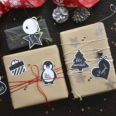 envolturas para regalos de navidad