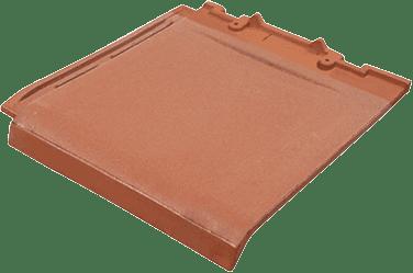 Atap genteng keramik datar