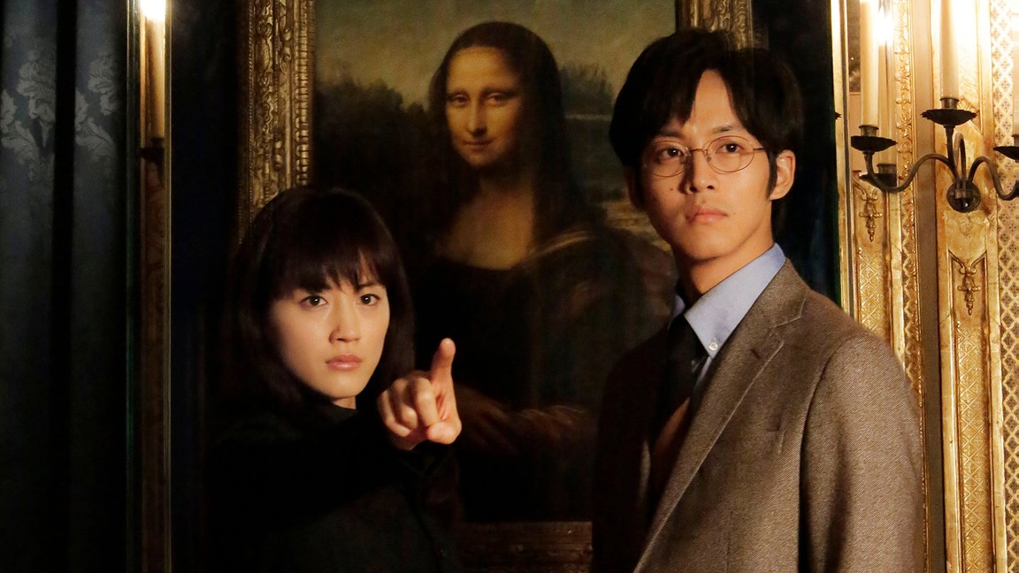 All-round Appraiser Q: The Eyes Of Mona Lisa