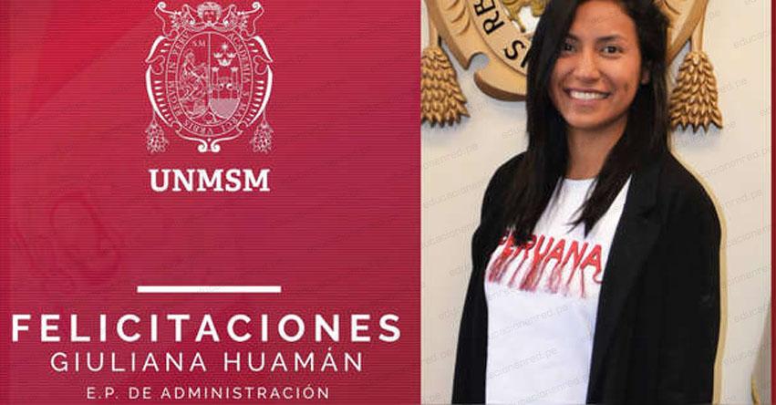 GIULIANA HUAMÁN: Estudiante peruana ganó un concurso de innovación en una de las mejores universidades