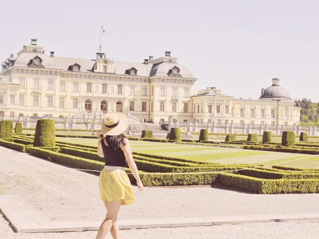 Best Stockholm Instagram Spots - Drottningholm palace gardens