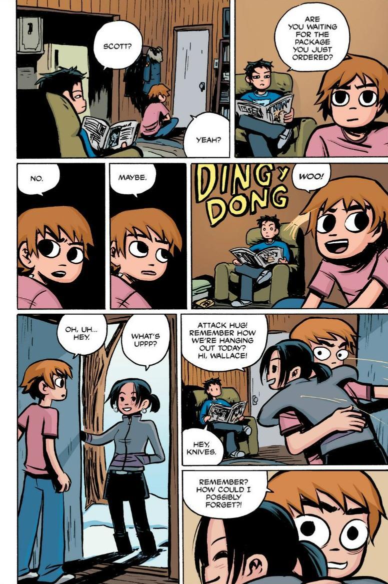 Read online Scott Pilgrim comic -  Issue #1 - 64