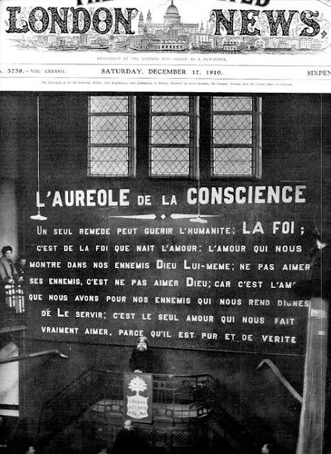 (extrait d'un fascicule offert à Jelt par le servant du temple Antoiniste de Jemeppe-sur-Meuse, Belgique)