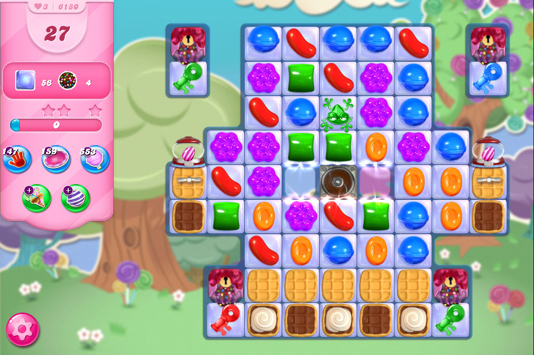 Candy Crush Saga level 6180
