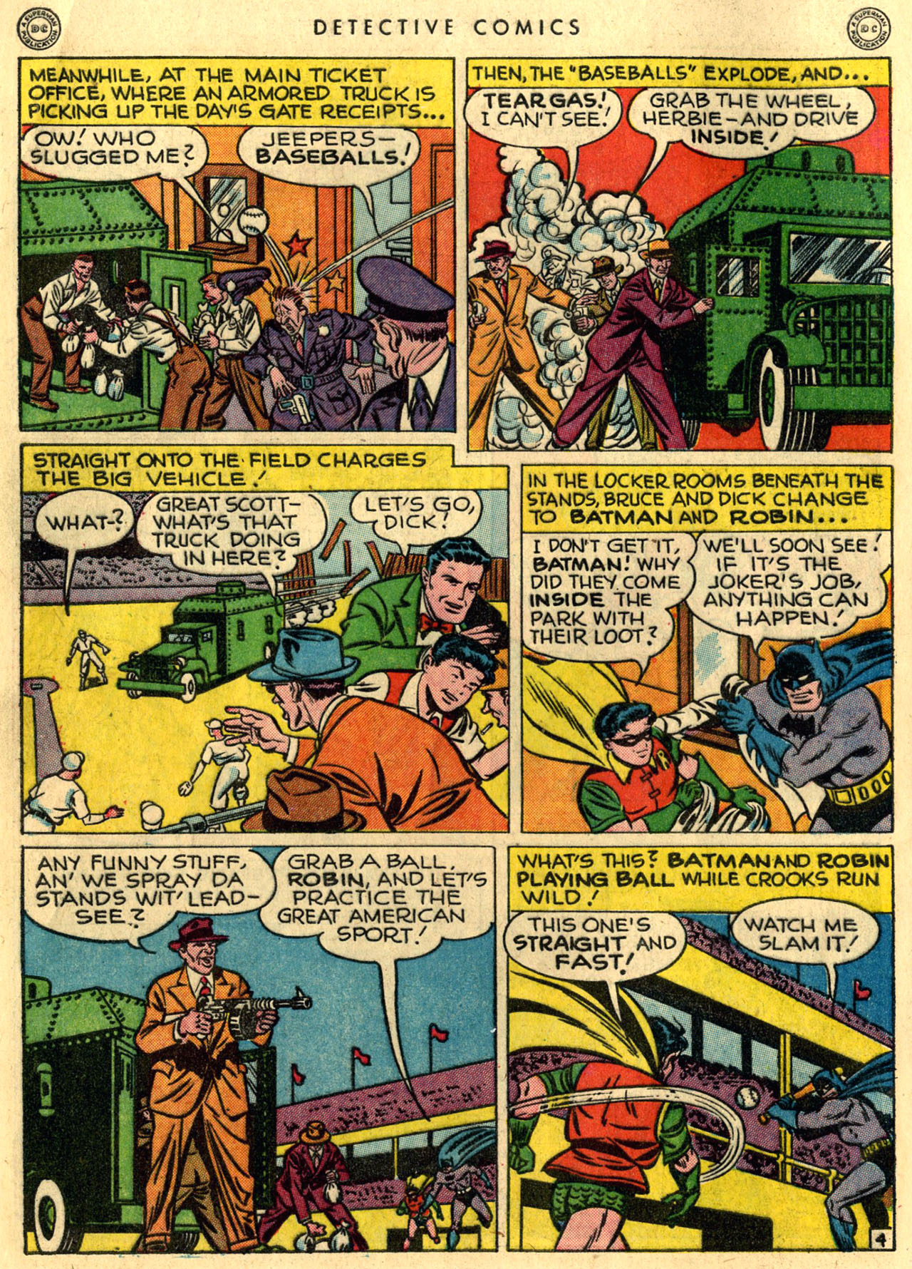 Read online Detective Comics (1937) comic -  Issue #118 - 6