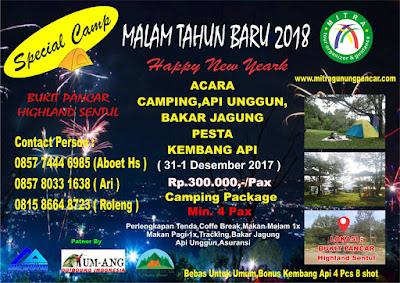 TAHUN BARU 2018 CAMPING
