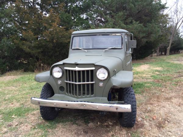 Jeep willys overland for sale
