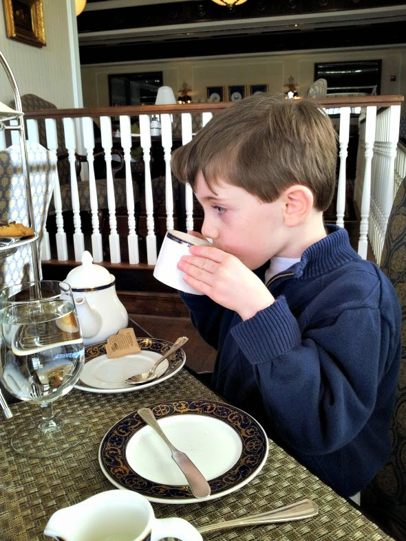 afternoon tea places for kids in N.C.