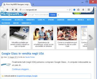 ottimizzare interfaccia Firefox