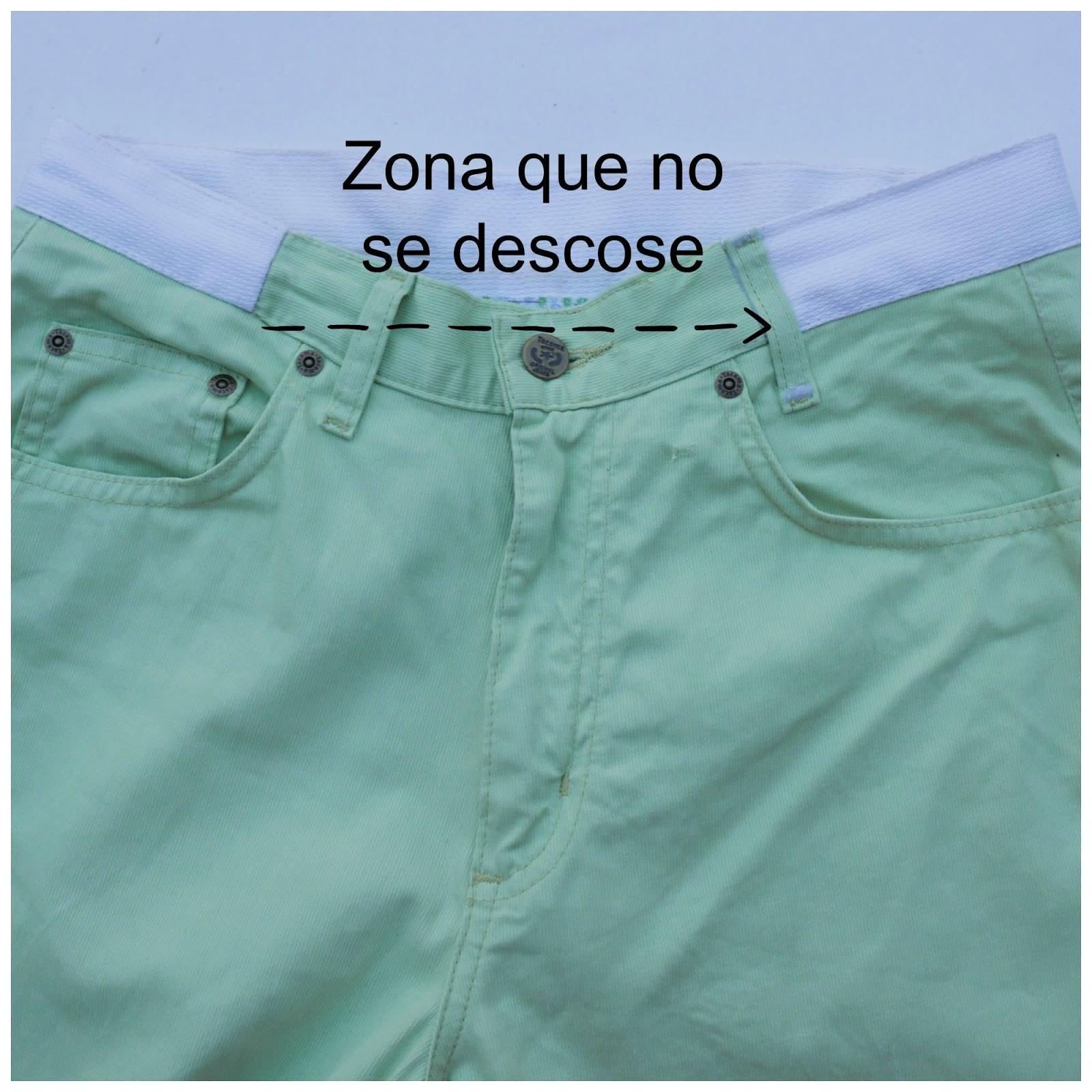b8af03b85 Costura ~ en la pantalón Cómo ensanchar Moda un qx6xt0n