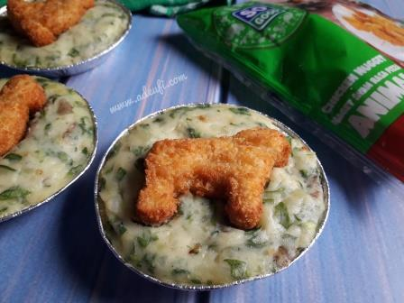 spinach mashed potato