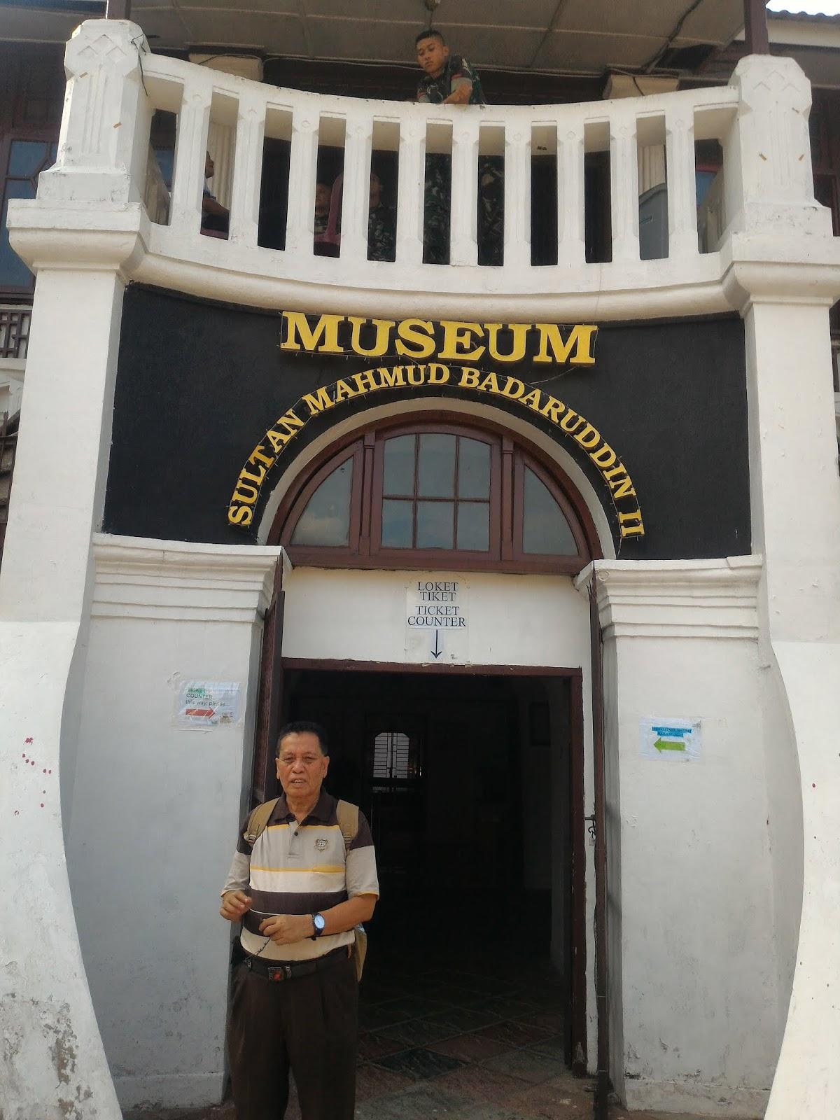 Traveling Bersama Aswir Dan Warsito Berkunjung Ke Museum Sultan Mahmud Badarudin Ii Di Palembang
