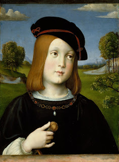 Federico Gonzaga, aged about 10, painted by Francesco Francia