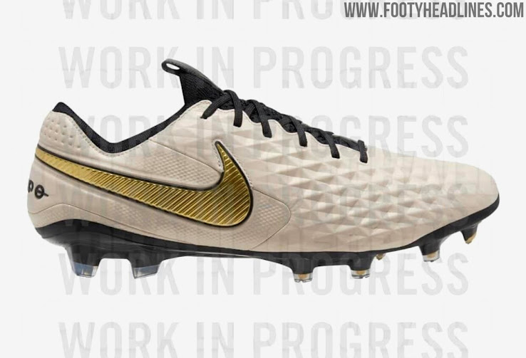 Excepcional morir Rosa  Ronaldinho Inspired? Oatmeal / Gold Nike Tiempo Legend 8 2021 Boots Leaked  - Footy Headlines