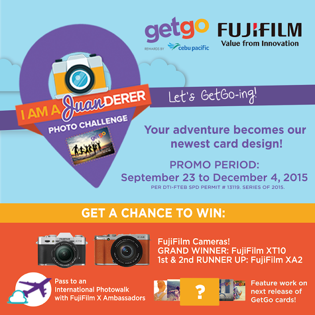 GetGo and Fujifilm reward the best travel photo with a brand new camera and a photo walk to Japan!