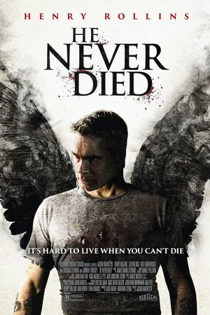 Poster He Never Died 2015