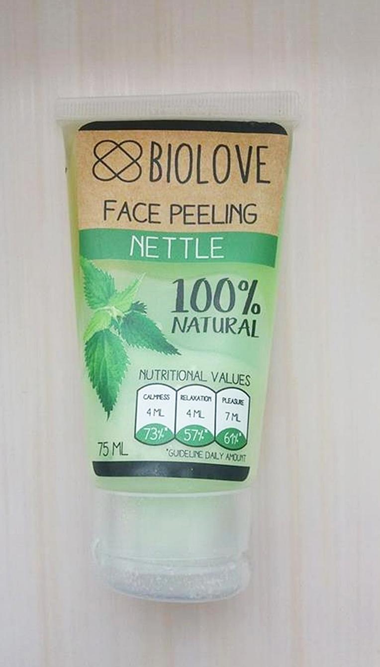 Peeling do twarzy Biolove z pokrzywą