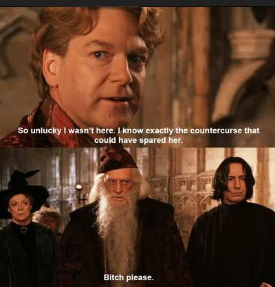 Snape and Dumbledore strip