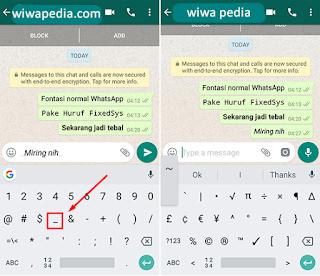 Cara Merubah Bentuk Huruf Di Whatsapp Tanpa Aplikasi