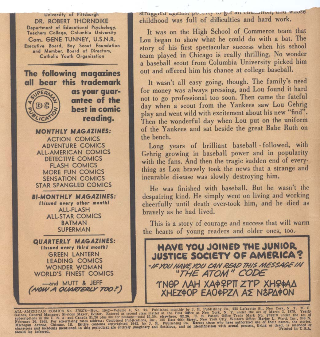 Read online All-American Comics (1939) comic -  Issue #44 - 2