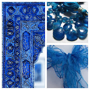 March moodboard for ROYAL BLUE