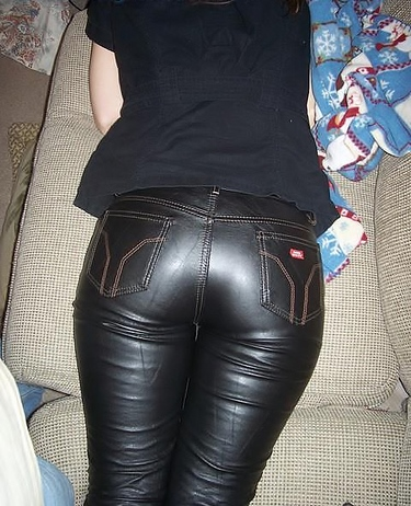 Tight Leather Panties 97