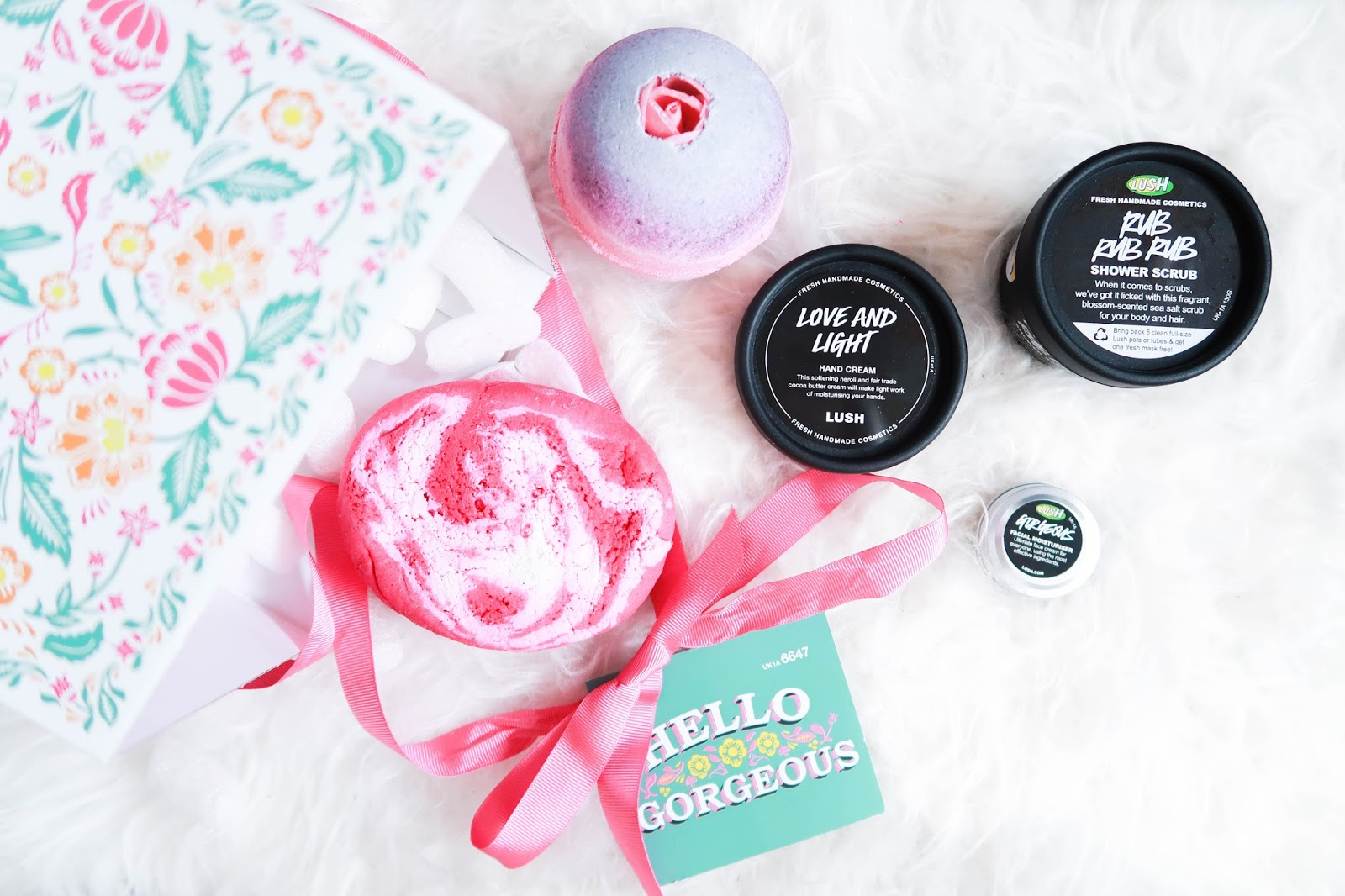 Lush Hello Gorgeous review