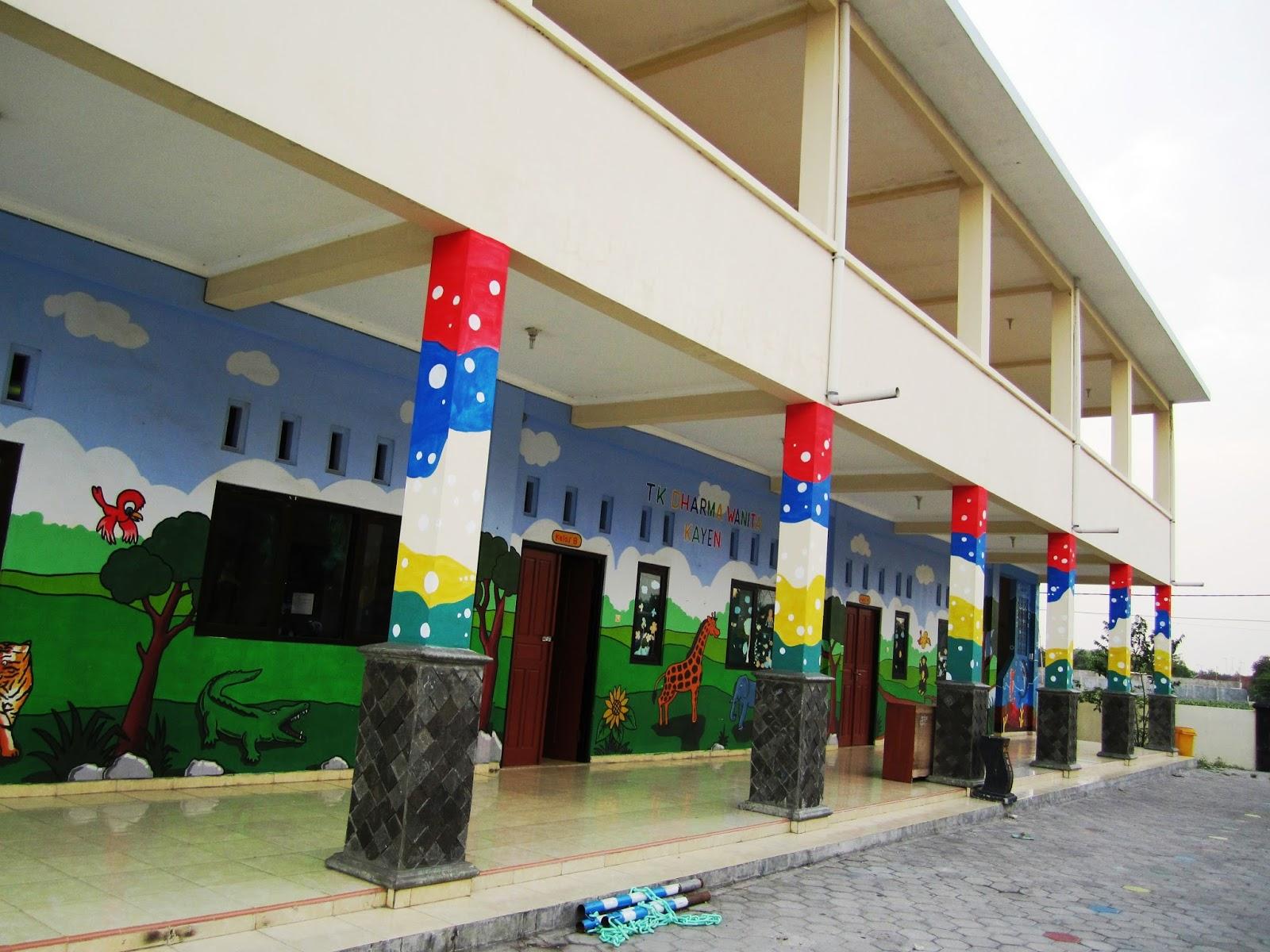 Contoh Karya Desain Gedung Taman Kanak-kanak Masa Kini