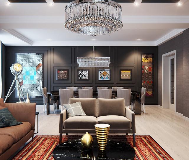 Aneka Model Design Interior Apartemen yang Dapat Jadi Pertimbangan Anda