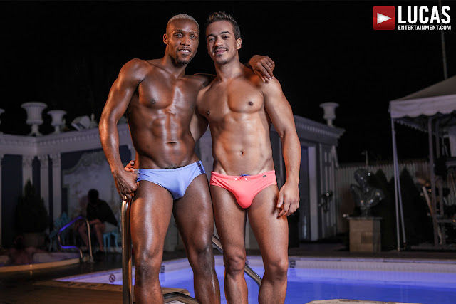 LucasEntertainment - ANDRE DONOVAN AND JONATHAN MIRANDA'S NIGHTTIME HOTEL SEX