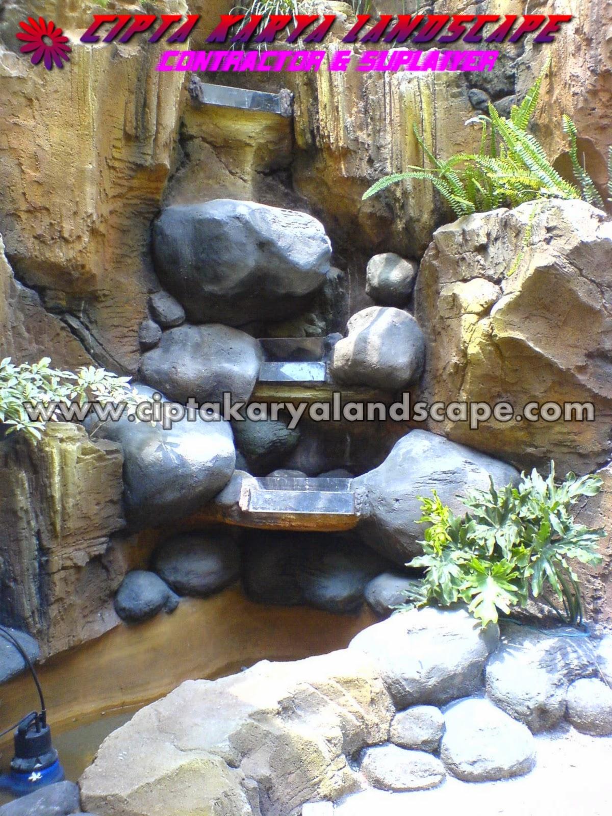 tebing air terjun | CIPTA KARYA LANDSCAPE : jasa tukang taman