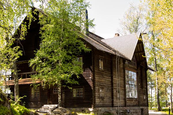 PauMau 40+ nelkytplus blogi Pekka HAlonen HAlosenniemi Tuusula taideatelje taiteilijakoti Rantatie hirsitalo luonnonlyyrikko 2015 juhlavuosi vintage