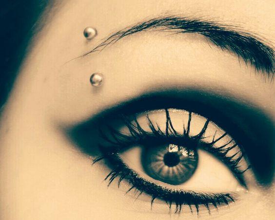 Stunning Eyebrow Piercing For Girls