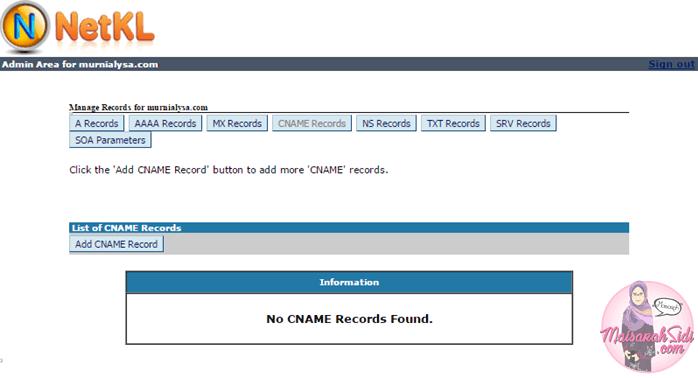 cara tukar domain ke dotcom