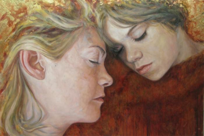 Связь между матерью и ребенком. Michelle Doll 15