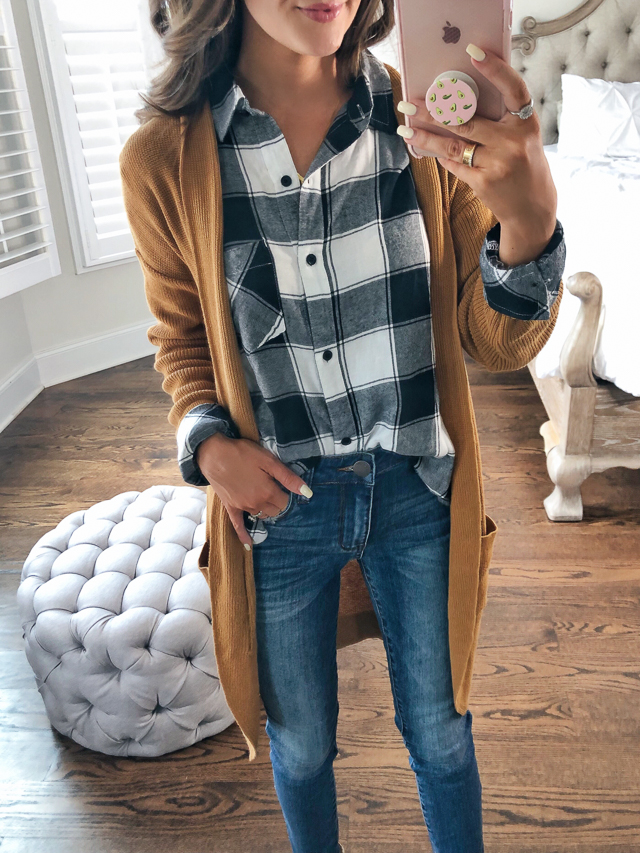 231edee96d60 B.P. Plaid Shirt in