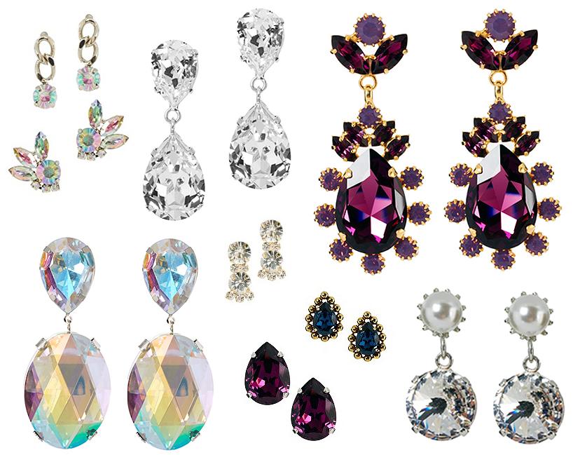 drop earrings asos