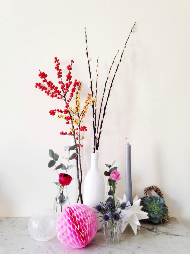 Festive flowers for Christmas