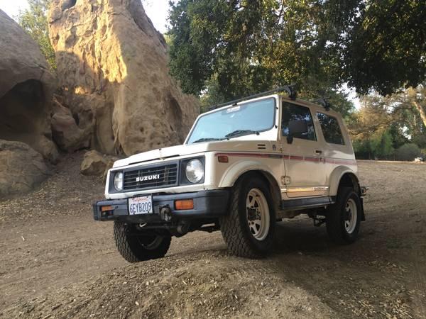 1987 Suzuki Samurai JX 4x4 Tin Top