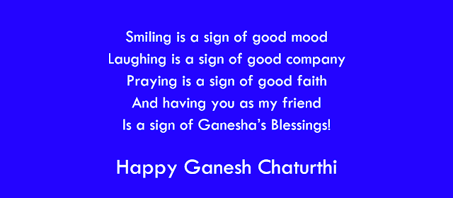 Ganesh Chaturthi Wishes, SMS, Messages For Friends and Family