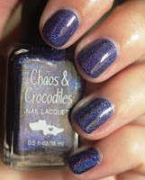 Chaos & Crocodiles Hella Holo Customs Cosmic Crystal