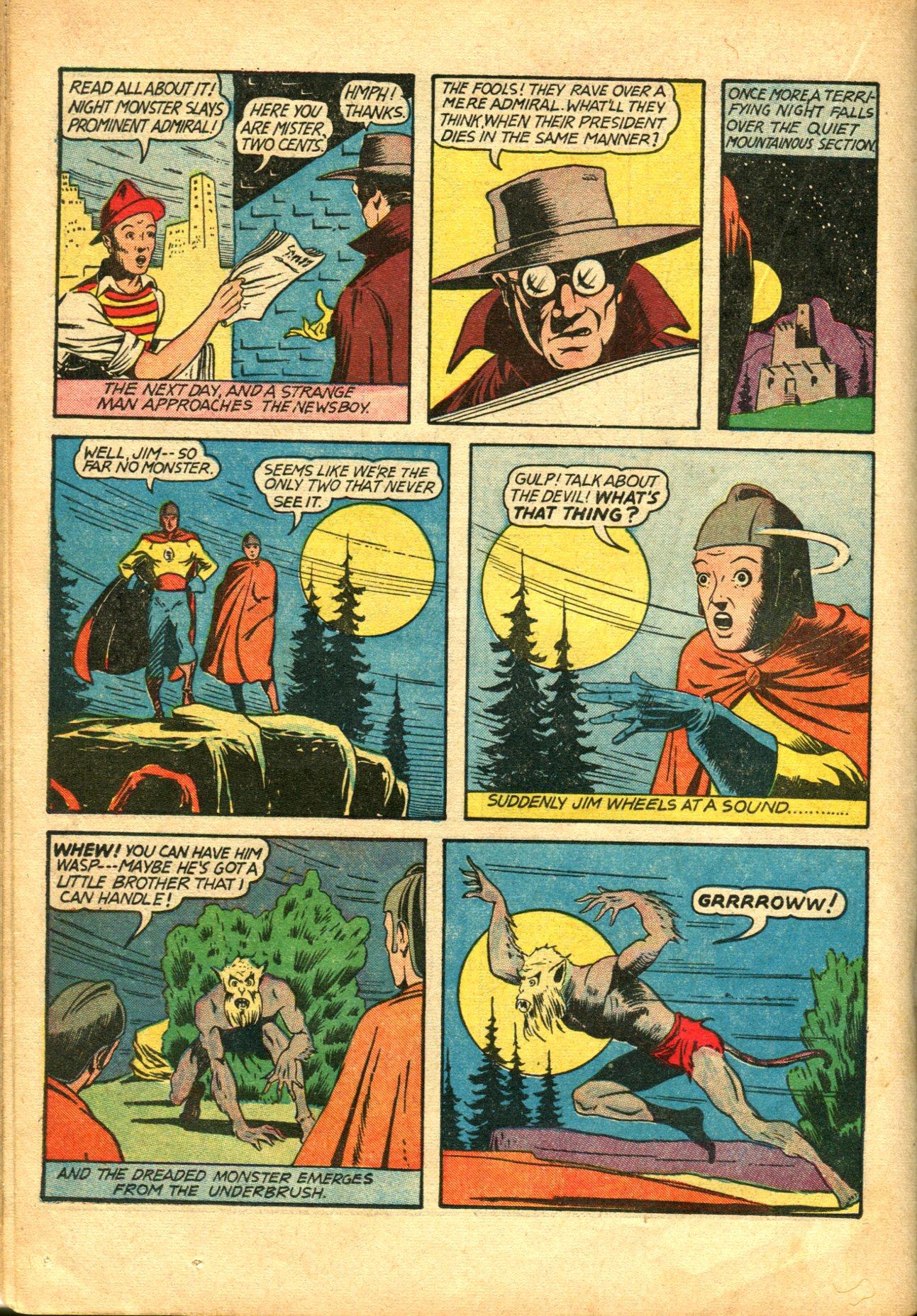 Read online Shadow Comics comic -  Issue #10 - 40