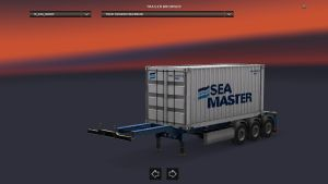 Container Sea Master Trailer