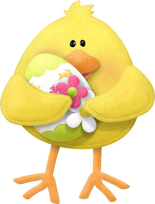 Spring Easter Clip Art. - Oh My Fiesta! in english