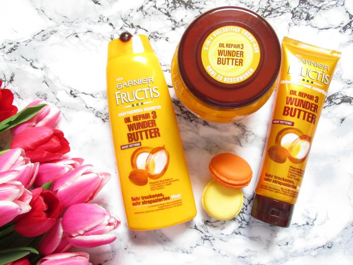 Review: Garnier Fructis - Oil Repair 3 Wunder Butter Serie - Testbericht, Erfahrungen