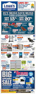 Lowe's Flyer Saving Card  valid April 26 - May 2, 2018