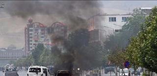 إنفجار قرب السفارة العراقية في العاصمة الأفغانية كابل