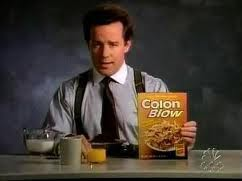 colon blow breakfast cereal with laxative effects