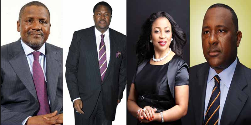 Forbes Releases List Of 10 Richest Personalities In Nigeria