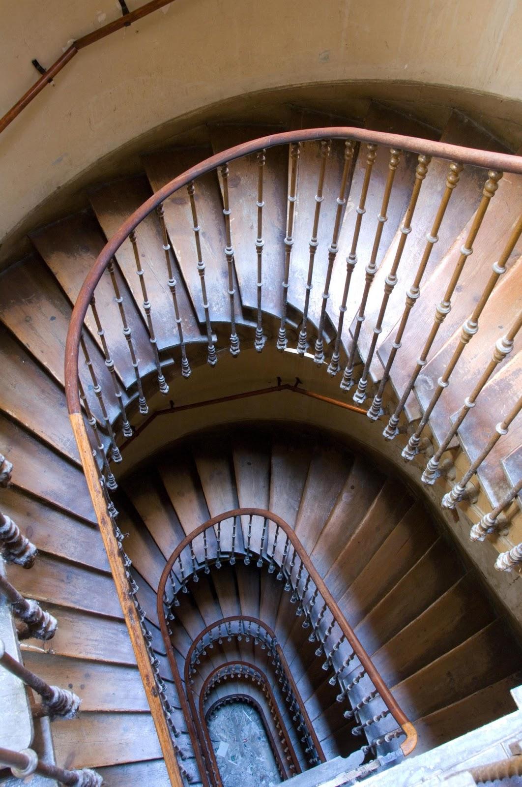 escaleras originales de madrid